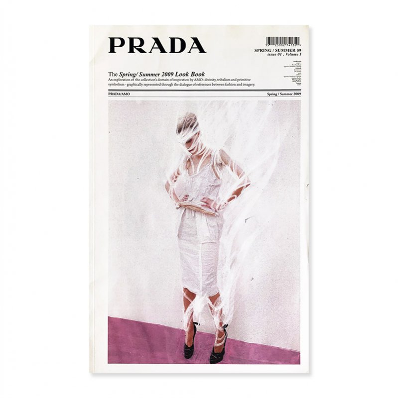 PRADA The Spring/Summer 2009 Look Book by AMO<br>プラダ 2009年春夏 ルックブック