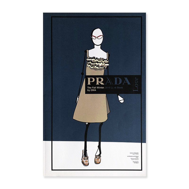 PRADA The Fall/Winter 2010 Look Book by OMA<br>プラダ 2010年秋冬 ルックブック