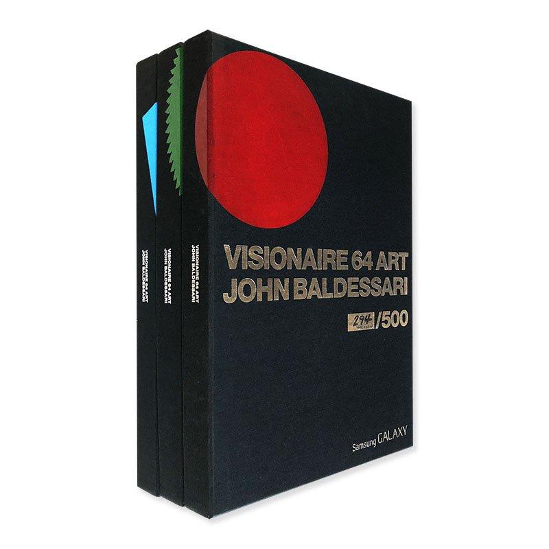 VISIONAIRE No.64 ART 3 colors set JOHN BALDESSARI<br>ヴィジョネア 64号 全3色版セット ジョン・バルデッサリ