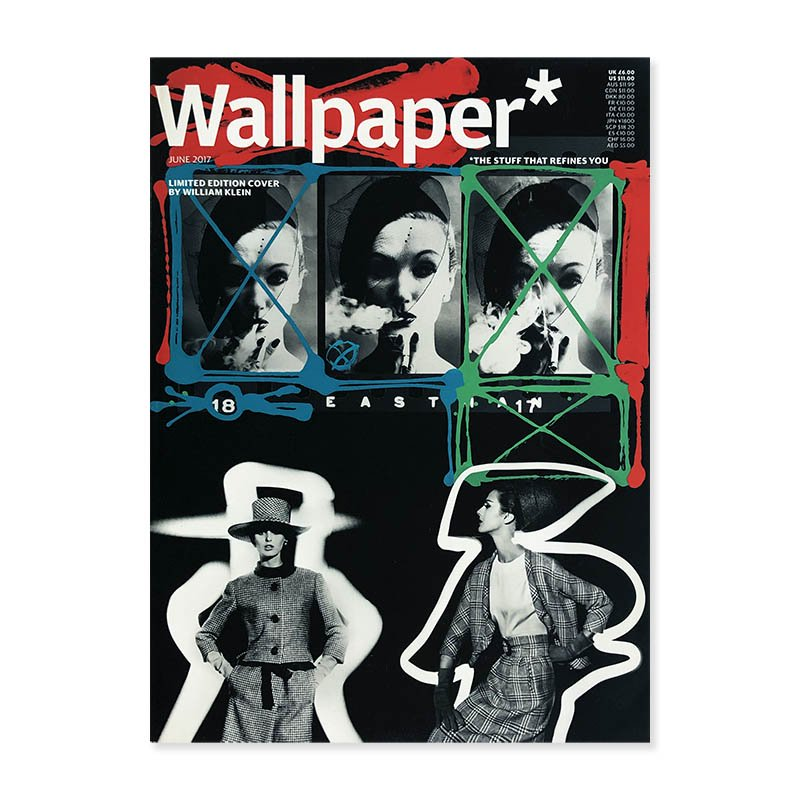 Wallpaper* magazine June 2017 limited edition cover by William Klein<br>ウォールペーパー 2017年6月号 ウィリアム・クライン