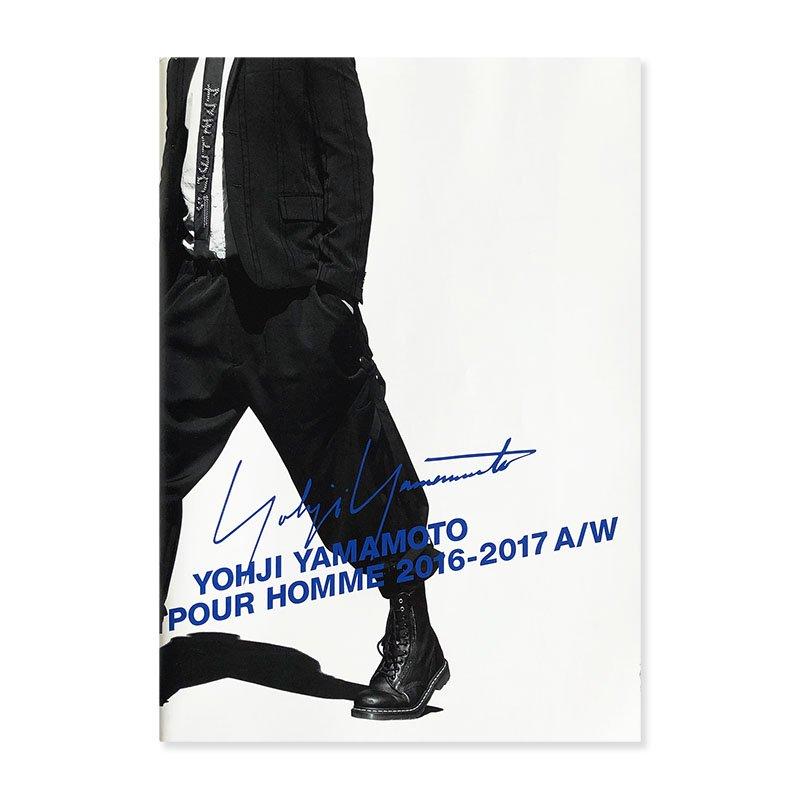 YOHJI YAMAMOTO POUR HOMME 2016-2017 A/W Lookbook<br>ヨウジヤマモト プールオム コレクションカタログ