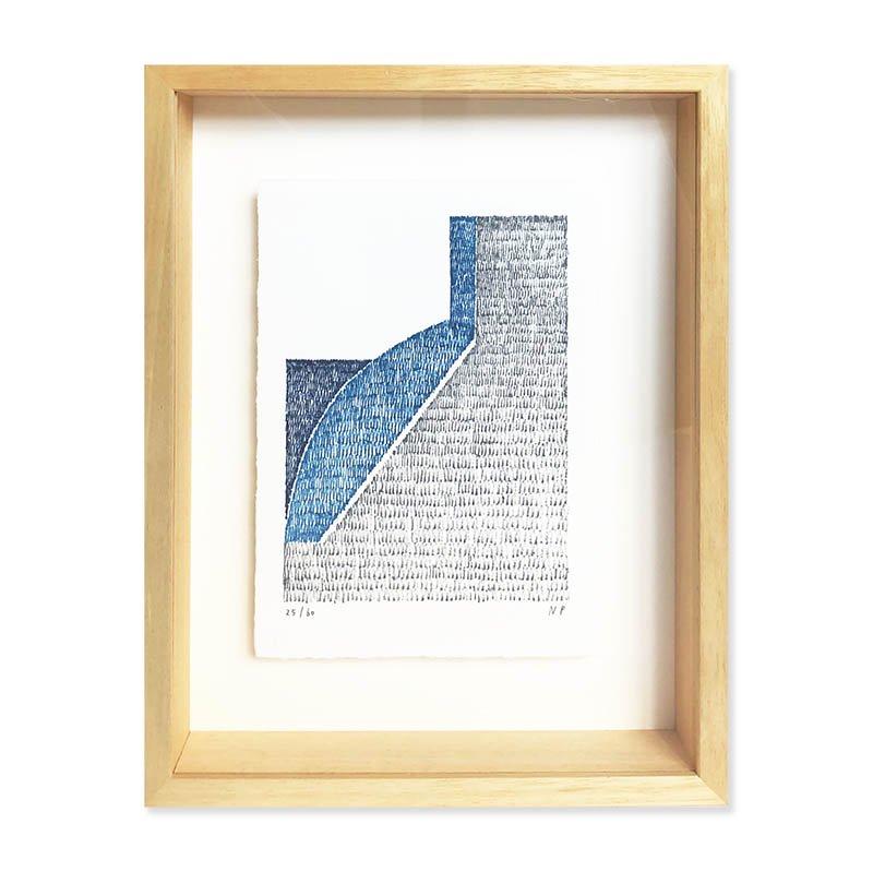 Nigel Peake Lithograph<br>ナイジェル・ピーク リトグラフ作品