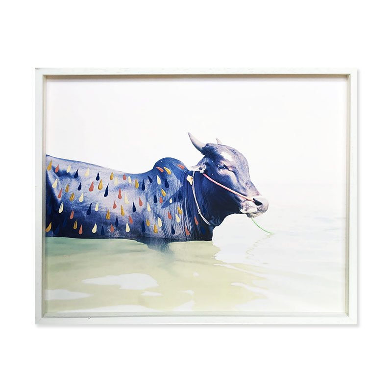 Vasantha Yogananthan: an original print「Taking A Bath」<br>ヴァサンタ・ヨガナンタン オリジナルプリント