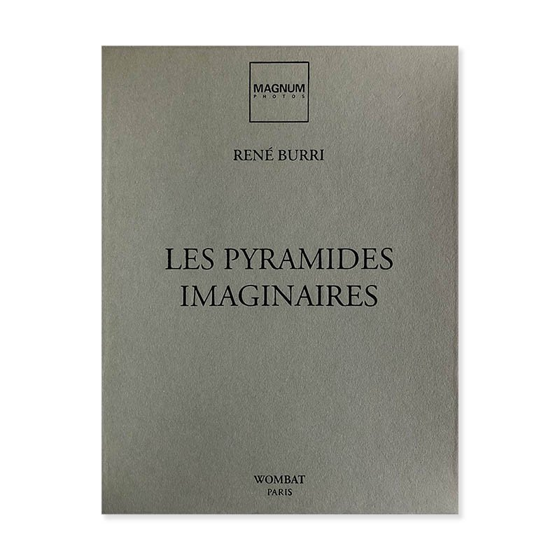 RENE BURRI: LES PYRAMIDES IMAGINAIRES WOMBAT No.35<br>ルネ・ブリ