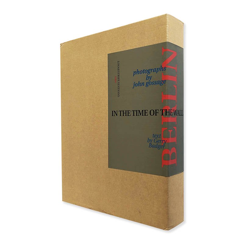 BERLIN IN THE TIME OF THE WALL photographs by John Gossage *signed<br>ジョン・ゴセージ *署名本