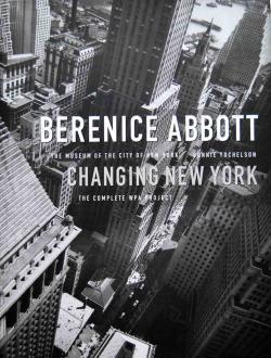 changing new york berenice abbott ベレニス アボット写真集 古本