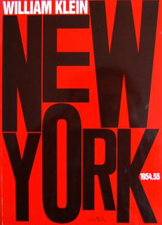 NEW YORK 1954.55 WILLIAM KLEIN ウィリアム・クライン 写真集