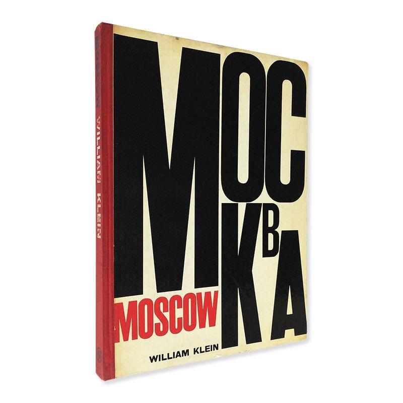 MOSCOW WILLIAM KLEIN ウィリアム・クライン写真集