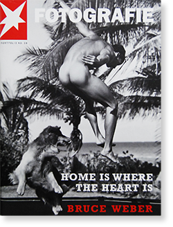 STERN Fotografie Portfolio No.38 HOME IS WHERE THE HEART IS BRUCE WEBER ブルース・ウェーバー 写真集