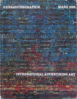 GEBRAUCHSGRAPHIK International Advertising Art 1968年3月号