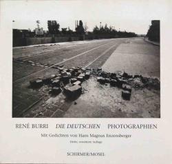 DIE DEUTSCHEN Rene Burri Photographien 1957-1997 ルネ・ブリ 写真集