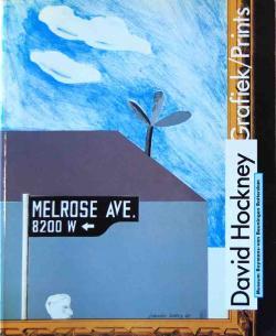 Grafiek/Prints David Hockney デヴィッド・ホックニー 展覧会カタログ