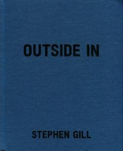 OUTSIDE IN Stephen Gill スティーヴン・ギル 写真集 署名本 signed