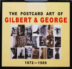THE POSTCARD ART OF GILBERT&GEORGE ギルバート&ジョージ作品集