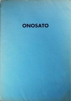 TOSHINOBU ONOSATO オノサト・トシノブ 作品集 署名本