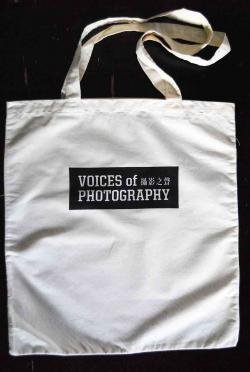 VOICES OF PHOTOGRAPHY'S TOTE BAG/撮影之聲トートバッグ