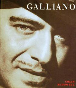 GALLIANO Colin McDowell John Galliano ジョン・ガリアーノ