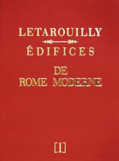 ルタルイー 近代ローマ建築1 LETAROUILLY EDIFICES DE ROME MODERNE