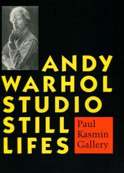 STUDIO STILL LIFES Andy Warhol アンディ・ウォーホル