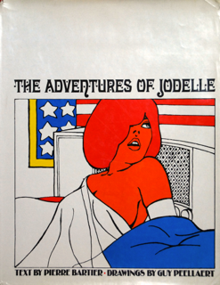 THE ADVENTURES OF JODELLE Guy Peellaert & Pierre Bartier ギイ・ペラート ピエール・バルティエ