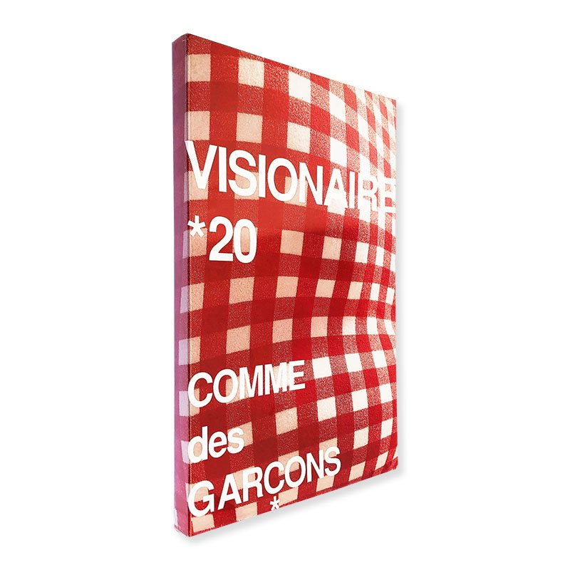 VISIONAIRE No.20 ヴィジョネア 第20号 赤 COMME des GARCONS コムデギャルソン 新品未開封 unopened