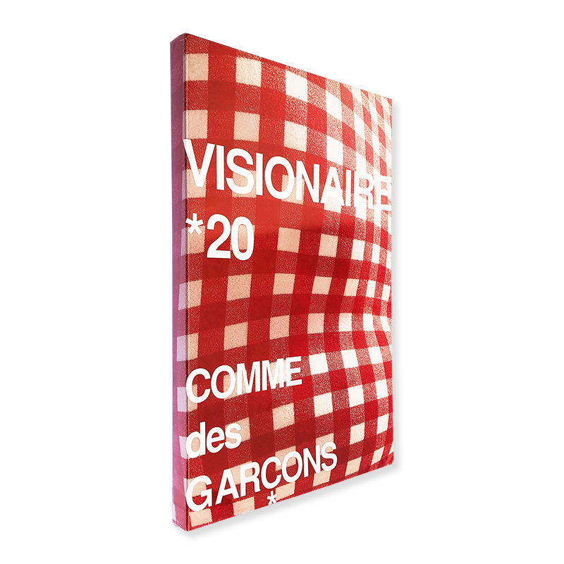 VISIONAIRE No.20 COMME des GARCONS Red Edition ヴィジョネア 第20号 赤 コムデギャルソン 未開封新品 unopened