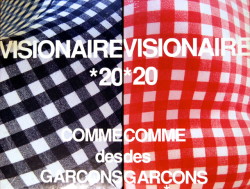 VISIONAIRE No.20 ヴィジョネア 第20号 青&赤 COMME des GARCONS コムデギャルソン 新品未開封 unopened