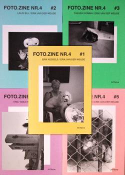 FOTO.ZINE NR.4 #1~#5 全5冊セット Erik van der Weijde エリック・ヴァン・デル・ヴァイデ