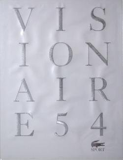 VISIONAIRE No.54 ヴィジョネア 54号 SPORT collaboration with LACOSTE SET1