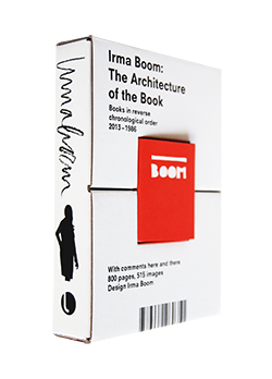 Irma Boom: The Architecture of the Book イルマ・ブーム 装幀集