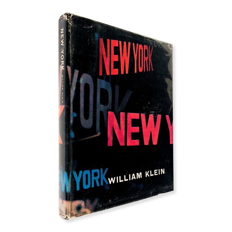 <img class='new_mark_img1' src='https://img.shop-pro.jp/img/new/icons57.gif' style='border:none;display:inline;margin:0px;padding:0px;width:auto;' />NEW YORK First French Edition William Klein ウィリアム・クライン 写真集