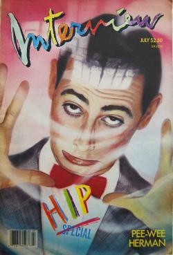 インタビュー・マガジン 1987年6月号 Andy Warhol's Interview magazine 1987 July