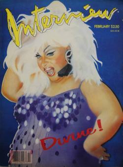 インタビュー・マガジン 1988年2月号 Andy Warhol's Interview magazine 1988 February