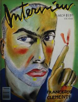 インタビュー・マガジン 1988年3月号 Andy Warhol's Interview magazine 1988 March