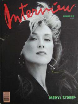 インタビュー・マガジン 1988年12月号 Andy Warhol's Interview magazine 1988 December