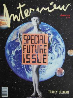 インタビュー・マガジン Special Future Issue 1989年1月号 Andy Warhol's Interview magazine 1989 January