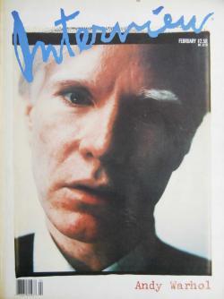 インタビュー・マガジン 1989年2月号 Andy Warhol's Interview magazine 1989 February Andy Warhol