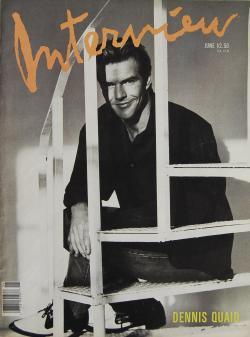 インタビュー・マガジン 1989年6月号 Andy Warhol's Interview magazine 1989 June