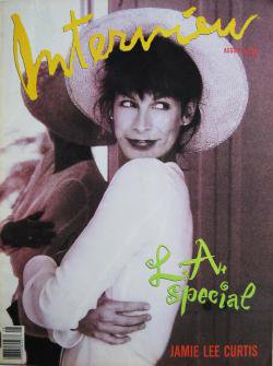 インタビュー・マガジン 1989年8月号 Andy Warhol's Interview magazine 1989 August