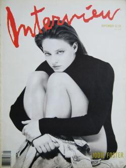 インタビュー・マガジン 1989年9月号 Andy Warhol's Interview magazine 1989 September
