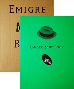 EMIGRE FONT BOOK エミグレ・フォント・ブック