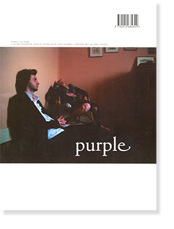 Purple number 14 Winter 2003 パープル 2003年 第14号 Terry Richardson 他