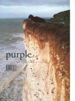 Purple number 15 spring summer 2003 パープル 2003年第15号 Wolfgang Tillmans 他