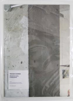 ARCHITECTURAL LANDSCAPES original poster Takashi Homma ホンマタカシ ポスター 署名本 signed