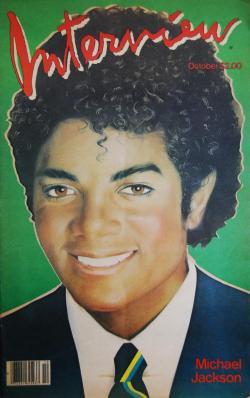 インタビュー・マガジン 1982年10月号 Andy Warhol's Interview magazine 1982 October Michael Jackson マイケル・ジャクソン