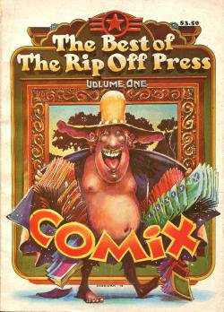 The Best of The Rip Off Press Volume one vol.1 ロバート・クラム 他 Robert Crumb and others