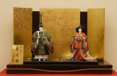 京製立ち雛 京9番 皇宮雛 正絹龍村織 光義作
