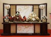 京八番 正絹西陣袋帯 束帯親王 S-110