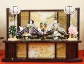 No3  京八番 正絹西陣袋帯 束帯親王 S-113