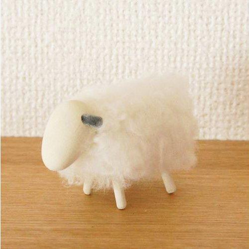 Larssons Tra/ラッセントレー 羊のオブジェ「ホワイト」